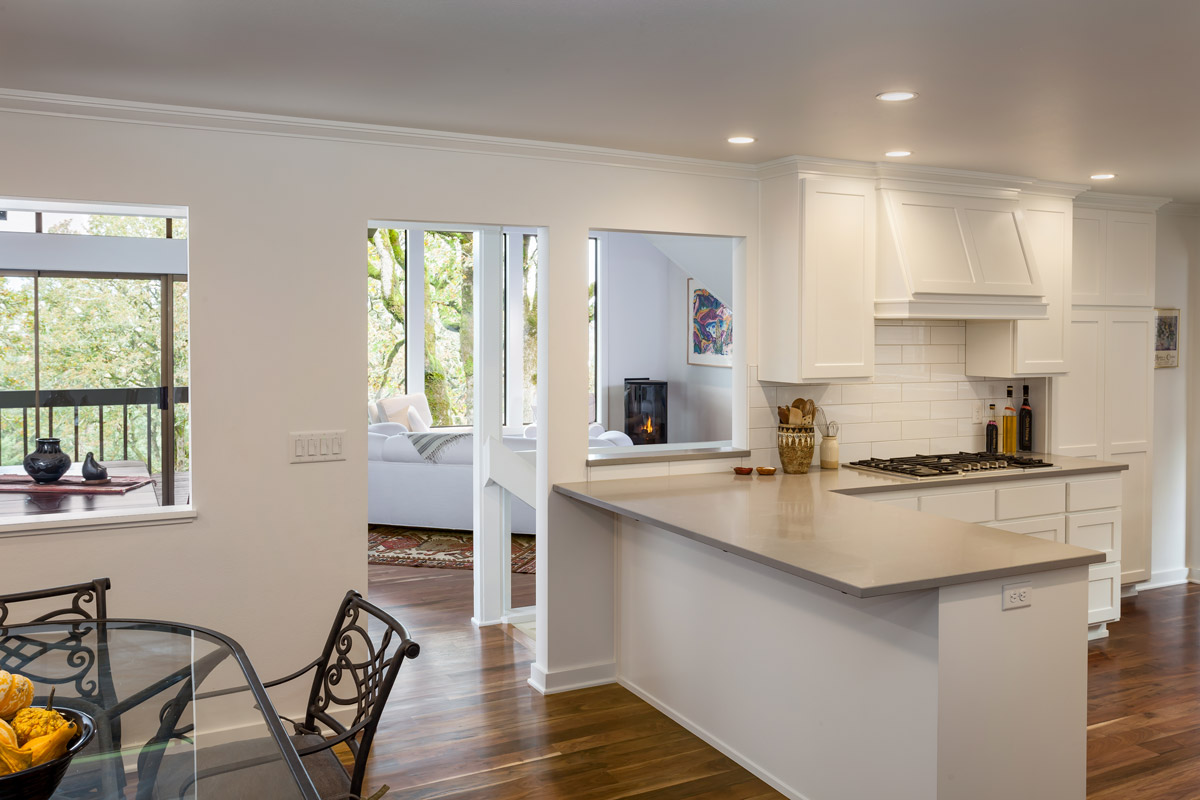 Modern but classic kitchen