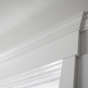 Country Living Custom Home - White Trim Detail