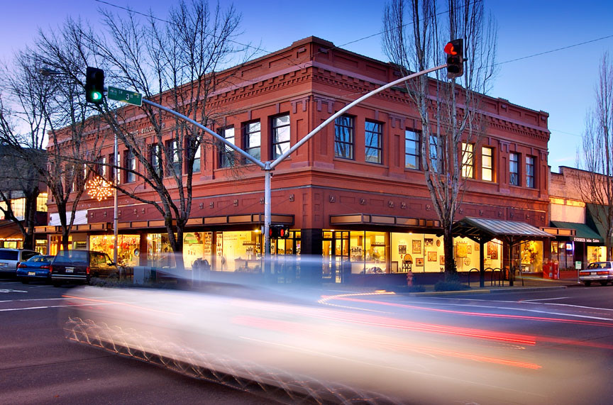 Downtown Corvallis