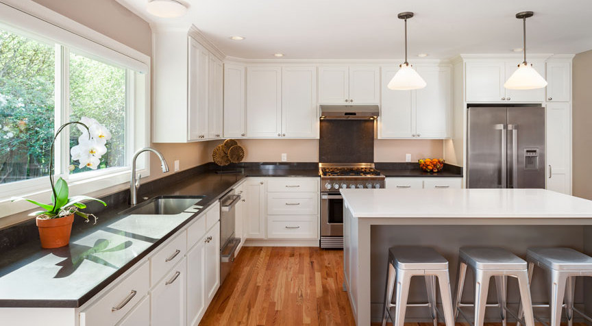 From Fixer Upper To New Modern Kitchen With New Windows And Custom Cabinets,  As