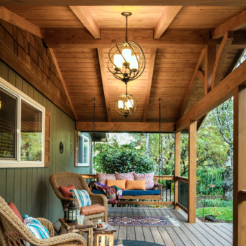 Corvallis, Oregon Porch Remodel