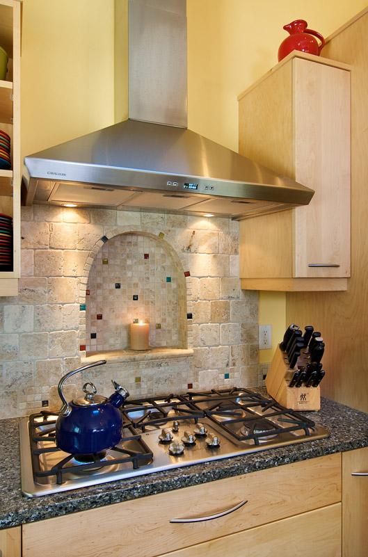 Classic stove alcove